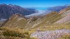 Ridgeline of Mt Cook Range