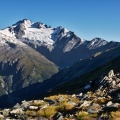 Mt Brewster and head of Makarora Valley