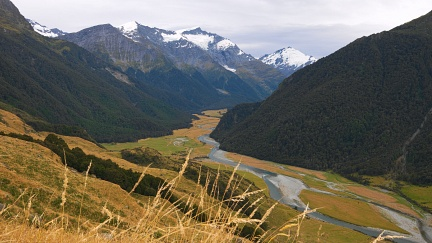 Cloudy in Matukituki Valley