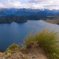 Green Lake from top of Mount Cuthbert