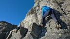 Climbing on Castle Rock