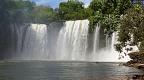 Waterfall São Romão from below