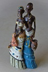 Statuette of African couple