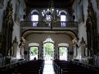 Interior of church Igreja de Nosso Senhor do Bonfim