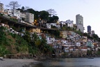 Favelas near the harbour