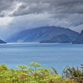 Stormy weather at Lake Hawea