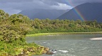 Rainbow over Arawhata River