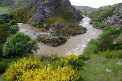 Taieri River by Prices Creek tunnel