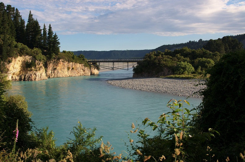 Bridge over Rakaia River
