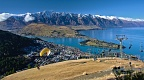 Paragliding takeoff site near Queenstown gondola