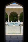 Archway in Indian garden