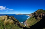 Otago coastline, view from Heyward Pt