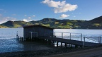 Boat shed at Hoopers Inlet