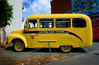 Captain Cook yellow bus