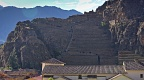 The Inca fortress at Ollantaytambo