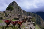 Ruins and Huayna Picchu mountain