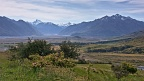 Rangitata River valley with Mount Sunday (Edoras)