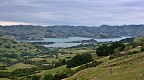 Akaroa Harbour from Hilltop Tavern