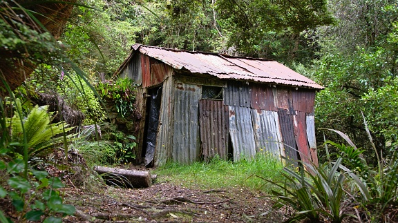 Historic Possum hut