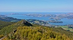 Otago Peninsula from Mount Cargill lookout