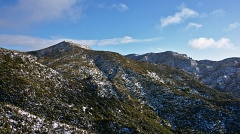 Rosella side ridge and Rocky Ridge with snow