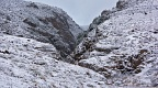 Woolshed Creek gorge with snow