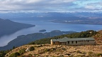 Luxmore Hut and Lake Te Anau