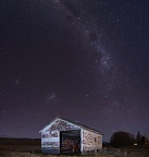 Farm shed and Milky Way