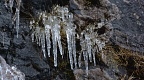 Icicles and dripping water