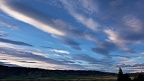 Evening clouds over Ida Valley