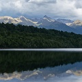Beech forest and Princess Mountains reflections