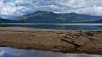 Kaherekoau Mountains and sand bank