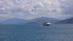 Ferry in Queen Charlotte Sound