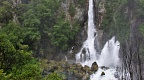 Tarawera Falls at high flow