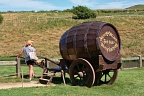 Ale barrel cart