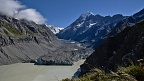 Hooker Glacier and Mount Cook