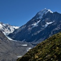 Mount Cook, La Perouse, and Hooker Glacier