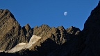 Moon over Ball Pass