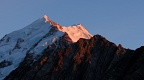 Alpenglow on Mount Cook and Nazomi