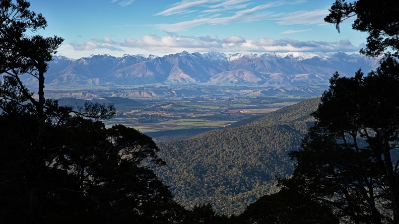 Waiau River Valley and Takitimu Mountains