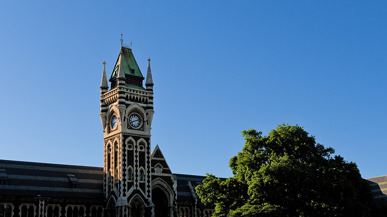 University of Otago Clock Tower
