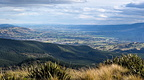 Taieri Plains from Swampy Summit