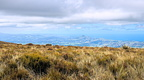 Mosgiel and Saddle Hill from top of Maungatua